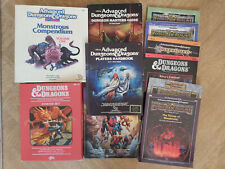 Vintage Advanced Dungeons and Dragons 1st and 2nd edition multilisting