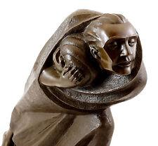 Bronzefigur - Der Flüchtling (1920) - signiert Ernst Barlach
