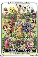 """""""ALICE IN WONDERLAND"""" Bud Townsends' 1978 Nudie Musical / DVD"""