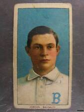 1909-11 T205 White Border TIM JORDAN Brooklyn Portrait