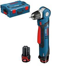 Bosch Trapano angolare 10,8V + 2 batterie litio 2,0ah professionale GWB10,8 V-LI