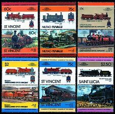 MIDLAND RAILWAY (MR) Collection GB Train Stamps (Pre-Grouping LMS Locomotives)
