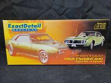 1:18 Lane Exact Detail 1968 Pontiac Firebird 400 Ram Air 4 Speed Green 1/2000