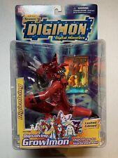 "DIGIMON Digivolving 6"" Limited Edition Growlmon Digivolves to WarGrowlmon New"