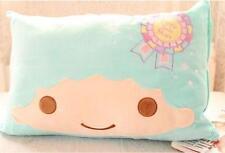 Little Twin Stars blue fuzzy pillowcase pillow case manga cases pillowslip new