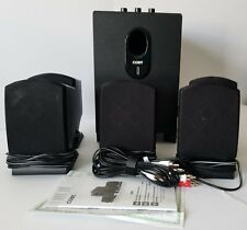 Coby CSP96 300-Watt 5.1 Channel Black Home Theater Speaker Subwoofer System