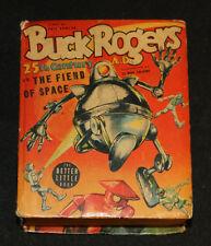1940 Big Little Book Buck Rogers #1409 vs The Space Fiend GD/FN