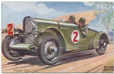Talbot Car by Artist Roland Davies Publisher J Salmon