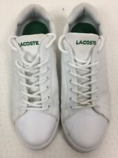 Mens Lacoste Trainers / Size 7.5 / Canvas / Sports / Casual / Classic