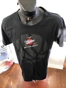 Vintage T-Shirt MENS Size XLarge Miller Genuine Draft Beer Toronto Raptors