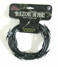 Razor Wire 6 Rings Realistic Halloween Party Haunted House Decoration Prop