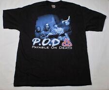 New listing Nos Vintage 1999 P.O.D. Fundamental Elements Southtown Concert Shirt Giant - Xl