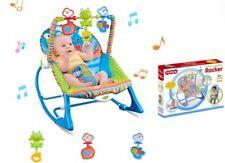Babyschaukel Babywippe mit Feststellfunktion Kinder mit Musik Vibration