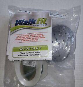 WalkFit Platinum Orthotics - Arch Support Insoles - Size I: Men's 12-12.5