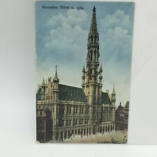 HOTEL DE VILLE BRUSSELS POSTCARD