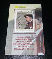 Tessera filatelica Puccini 2008