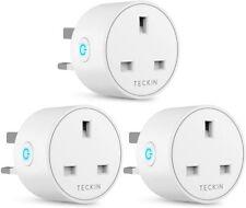 TECKIN Mini WiFi Socket Works with Alexa, Google Home, Wireless  3 pack BNIB