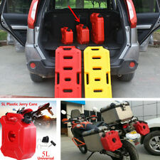 5L Jerry Cans Gas Diesel Petrol Fuel Tank Oil Containers Fuel-jugs Auto Bike ATV