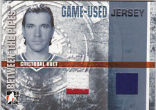 06-07 ITG Cristobal Huet Jersey Between The Pipes 2006 Canadiens