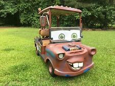 Lil Tow Mater - The Golf Cart 2013 EXGO RXV