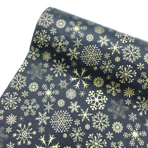 10Pcs Tissue Wrapping Packaging Paper Snowflake Xmas DIY Craft Flower Gift Decor