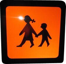 Warntafel, Magnetschild, Schulbusschild, 40x40 cm reflektierend