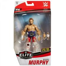 WWE ELITE BUDDY MURPHY FIGURE SERIES 72 WRESTLING RED PANTS CRUISERWEIGHT BELT