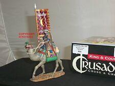 KING And Country mk81 CROCIATI CAVALIERE CAMMELLO flagbearer MONTATO Giocattolo Soldato