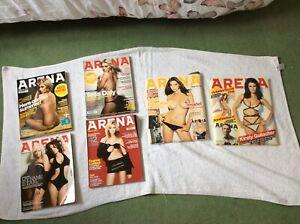 Arena magazines x 6