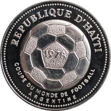 """Haiti 50 gourdes 1977, PROOF, """"1978 FIFA World Cup"""""""