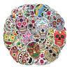 50 Cartoon Stickerbomb Punk Rock schädel Aufkleber Sticker Mix Decals Skull xc