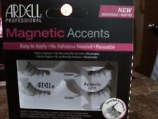"""Ardell """"Accents 001"""" Magnetic Eye Lashes One Pair. (FREE GIFT)"""