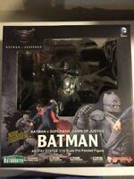 "Kotobukiya ARTFX 1/10 Scale Batman V Superman:""Armored Batman"" Statue~New! M/NM!"