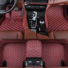 Tapis de Sol Auto Cuir/Simili Compatible avec Jaguar XJ -x350