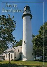 Pointe Aux Barques Lighthouse Lake Huron Michigan, Mi Light Museum Park Postcard