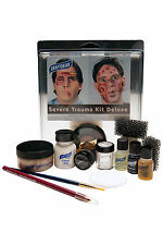 Graftobian Deluxe Severe Trauma SFX Student Character Blood Halloween Makeup Kit