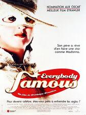 Affiche 40x60cm EVERYBODY FAMOUS 2001 Josse De Pauw, Eva Van Der Gucht NEUVE