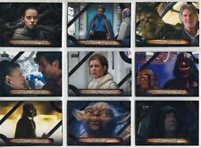 Star Wars Galactic Files 2018 Complete Memorable Quotes Chase Card Set MQ1-10
