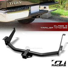 "Class 3 Trailer Hitch Receiver Rear Bumper Towing 2"" For 2004-2015 Nissan Titan"