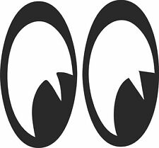 New Moon Eyes  Vinyl  Car Decal Window Pick The Size & Color eyeball Eye
