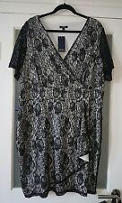 BNWT Samya women's plus size lace finish dress, size 24