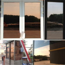 Brown&silver Window Film One Way Mirror Glass Solar Tint Wholesale roll Sticker