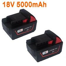 2x For Milwaukee 5.0AH 18V  M18 M18B4 48-11-1828 Red Lithium Ion XC 5.0 Battery