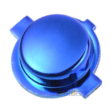 Customized Logo Home Buttons Mod Kits for PS4 Controller Chrome Blue