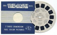 Nördlingen Germany 1955 Belgium-made Sawyer's ViewMaster Single Reel 1530