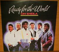 """Maxi  12"""" Ready For The World Oh Sheila / I'm The One Who Loves You 7"""" 45 rpm"""