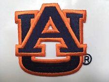 "Auburn patch auburn tigers Auburn Univ. AU iron on  sew on  patch 2.75"" wide"