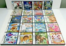 NINTENDO DS EMPTY GAME CASES WITH OUTER SKIN & USER MANUALS / LOT OF 20