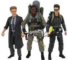 Diamond Select Ghostbusters 2 Series 7 Set, 3 action figures Egon Winston Janosz