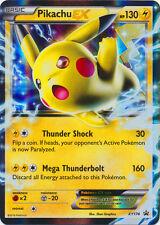 Pokemon TCG XY174 Pikachu EX Foil Promo Black Star Rare Card